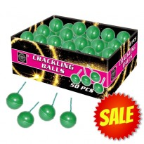 Crackling Balls Box (50st.)