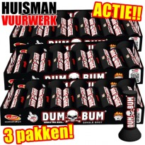 DumBum Single Shot Actie (30st.)